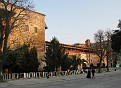 The palace of İbrahim Pasha in March