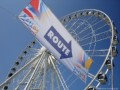 Big Wheel (reuzenrad) with Sail 2005 route flag