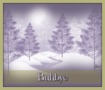 Buhbye-Misted Lavender Snow Forest RM-gailz