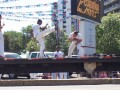 Capoeira dancers