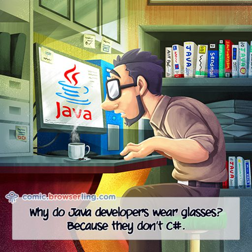Glasses - Weekly comic about web developers, software and browsers