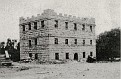 The old jail in Huntsville before the fire escape was added