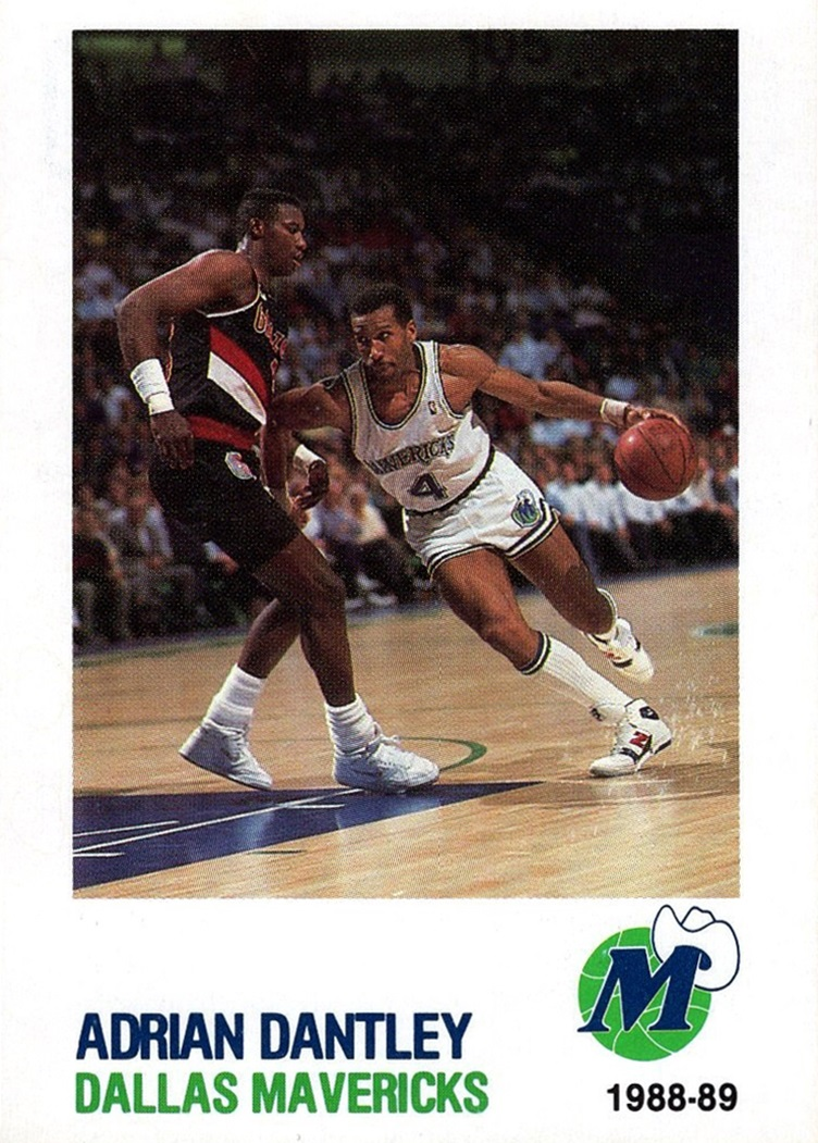 1988-89 Bud Light Dallas Mavericks #04 (1)