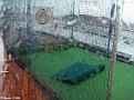 Golf Nets - Rather wet out there