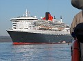 Queen Mary 2 from Maid of the Forth