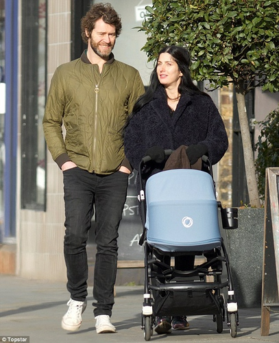 3095D69F00000578-0-His first outing Proud father Howard Donald took his son Bowie T-a-13 1453808894203