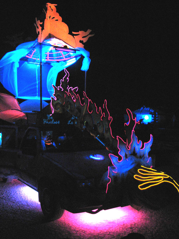Art Car at Wow Camp