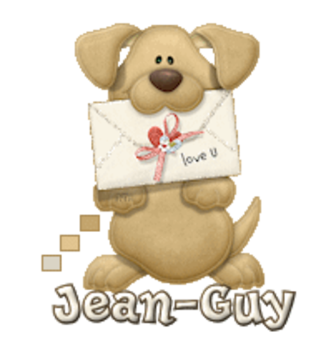 Jean-Guy - PuppyLoveULetter