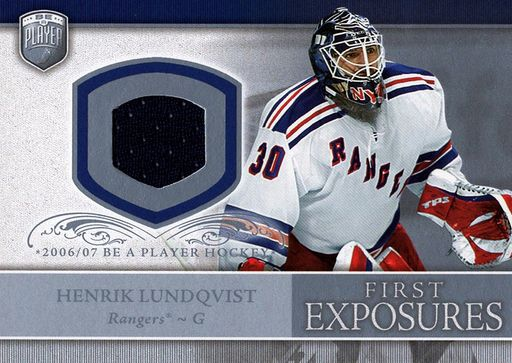 2006-07 Be A Player First Exposures Henrik Lundqvist (1)