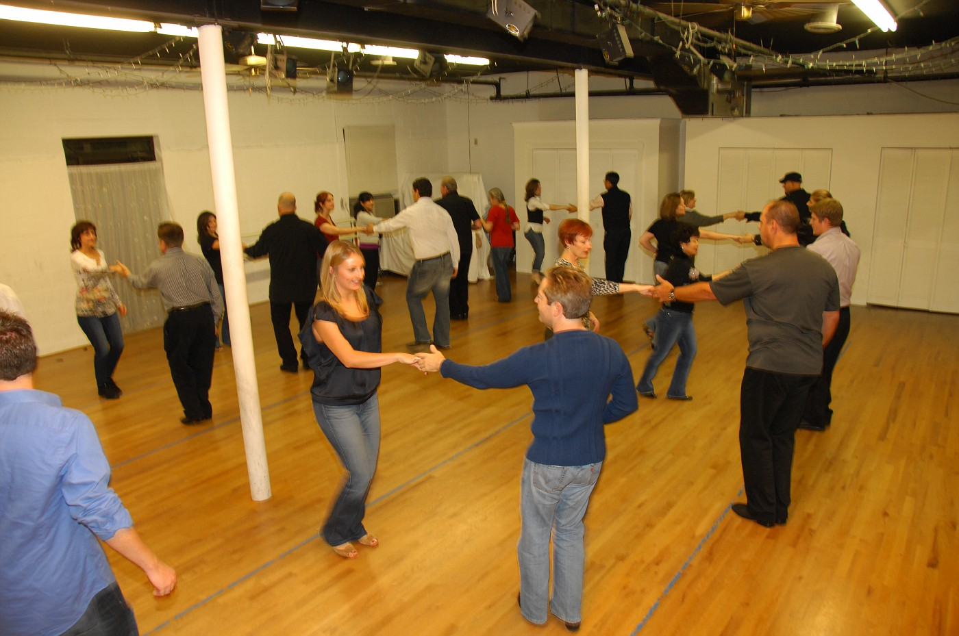 West Coast Swing Beginner Class at Dance Dimensions in Norwalk, CT