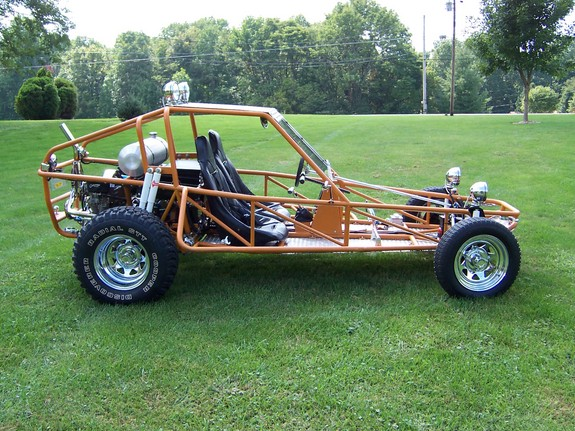 Photo: copper rail | V W  Dune Buggy-Sand Rail album