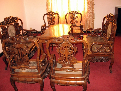Dinning table, Presidential Palace