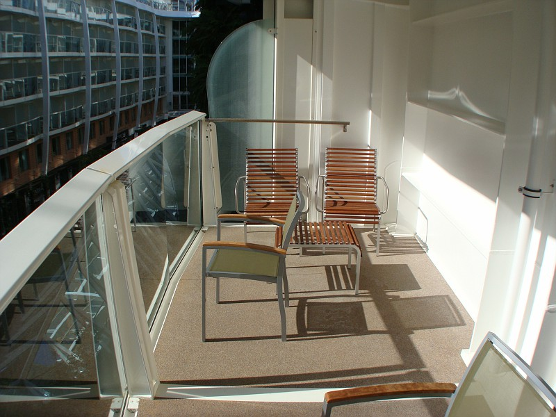 Large Balcony for Central Park View Stateroom