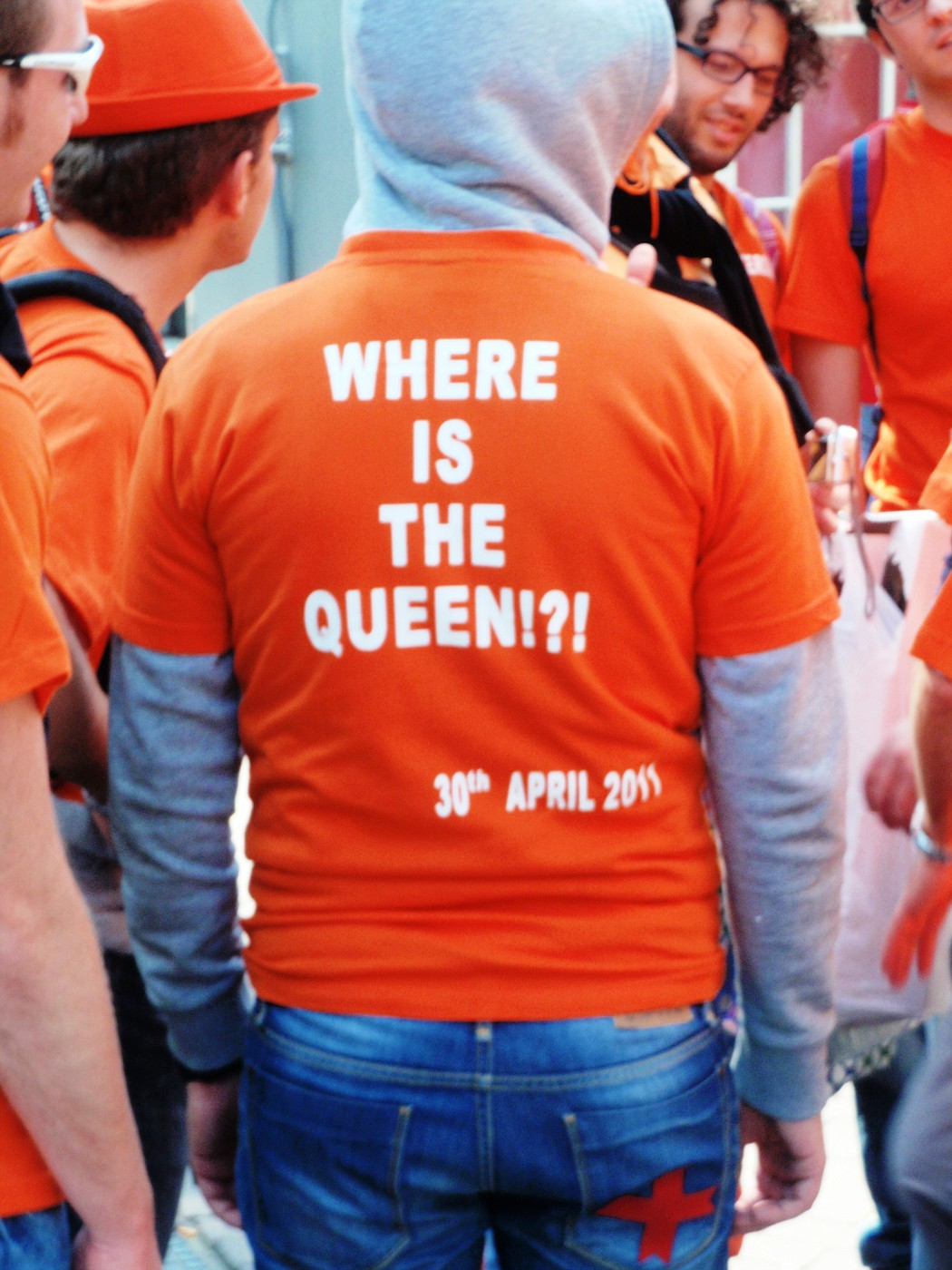 Where is the Queen?