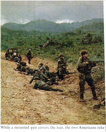 4-LIFE Magazine pictures of NVA ambush outside DAK TO