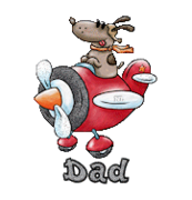 Dad - DogFlyingPlane