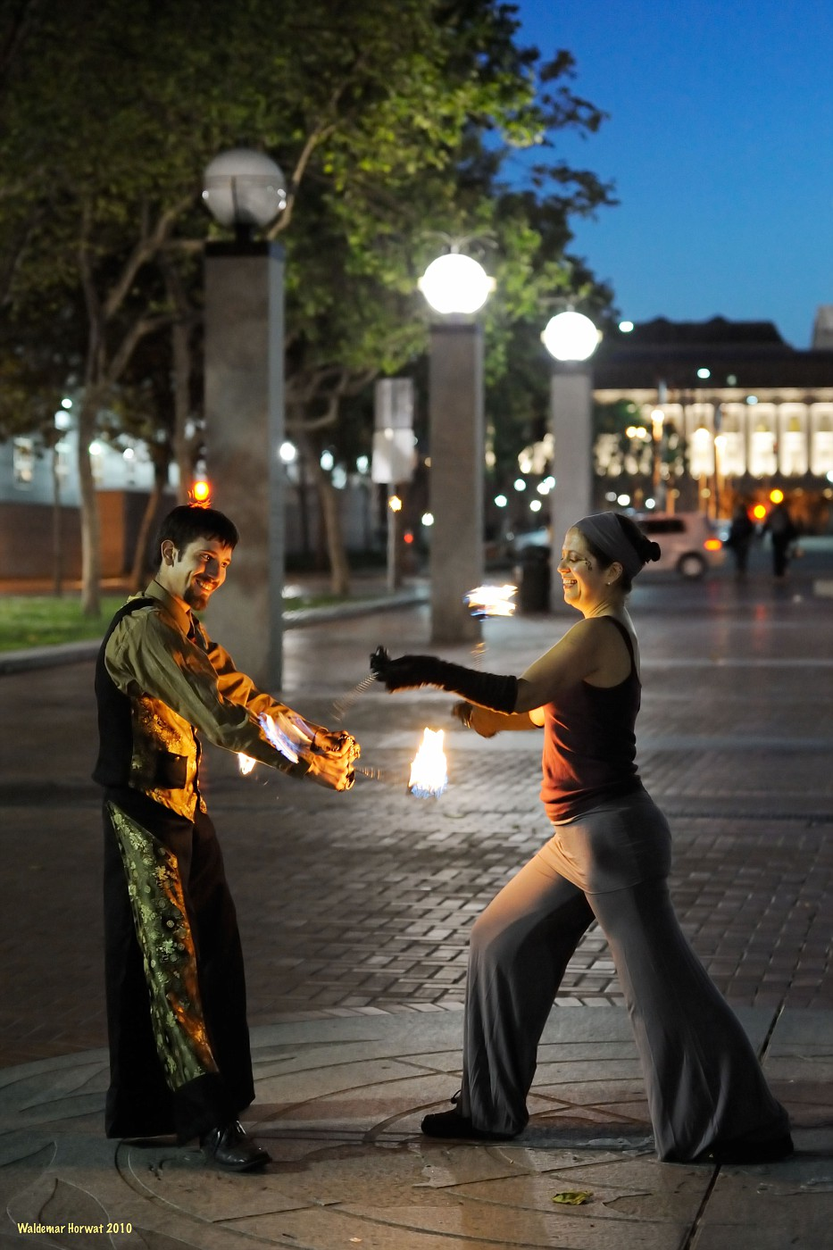 Fire Poi Welcome