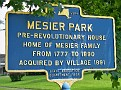 Mesier Park Historical Sign, Wappingers Falls NY