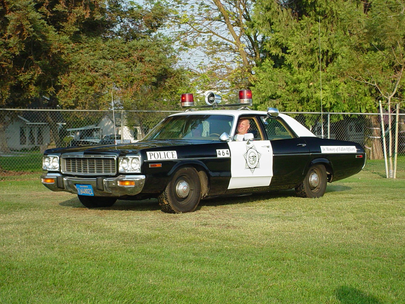 Photo: 1973 Dodge Polara- generic copcar | Ripon, CA Show