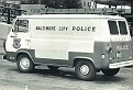 MD- Baltimore Police 1967 Ford van