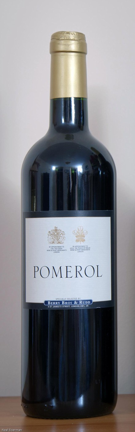 Berry Bros  & Rudd Berry's Own Selection Pomerol Château Feytit-Clinet 2008