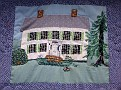 HARWINTON - HARWINTON LIBRARY - 250th ANNIVERSARY QUILT 04