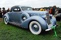 1936 Lincoln K LeBaron Coupe front exterior view