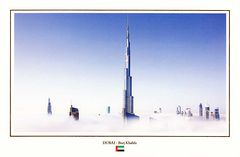 UAE - BURJ KHALIFA TOWER NS