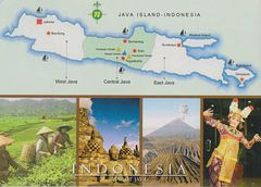 Indonesia - Java (World's Most Populated Island)