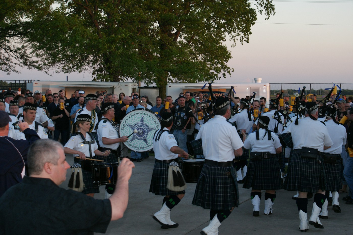 Emerald Society Pipes & Drums