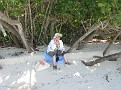 hiding out at end of Trunk Bay