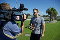 Brian Dozier interviewed by Chris Parks of ABC-7.