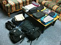 Thursday December 16, 2010.  Packed and Ready for 1.5 months of traveling in Western Europe.  Yikes...  Do I realize it's Winter...  What the heck / Let's Go!!!  I'll post photos daily to my Visual Diary ;-)  Cheers!!! Gary