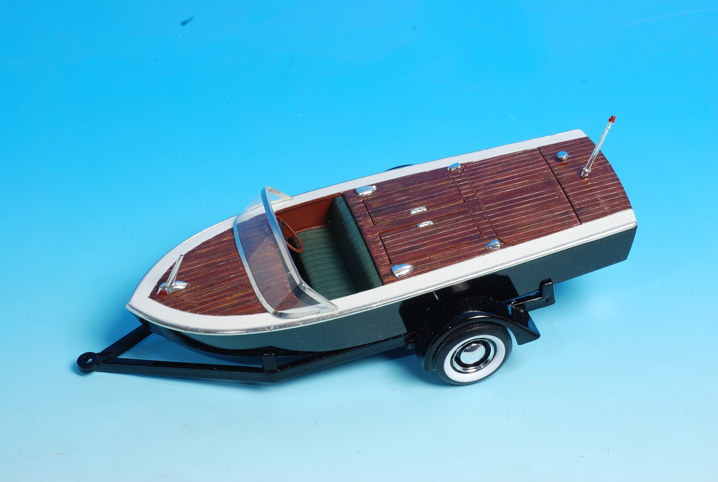 AMT Trophy Series Chris Craft built box stock with a mix of stock/custom version parts