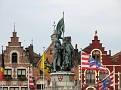 Statue of Jan Breydel and Pieter de Coninck