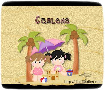 Carlene-gailz-girls at beach