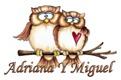 Adriana Y Miguel - ValentineOwls
