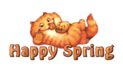 Happy Spring - SpringKitty
