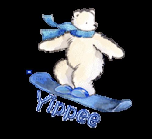 Yippee - SnowboardingPolarBear