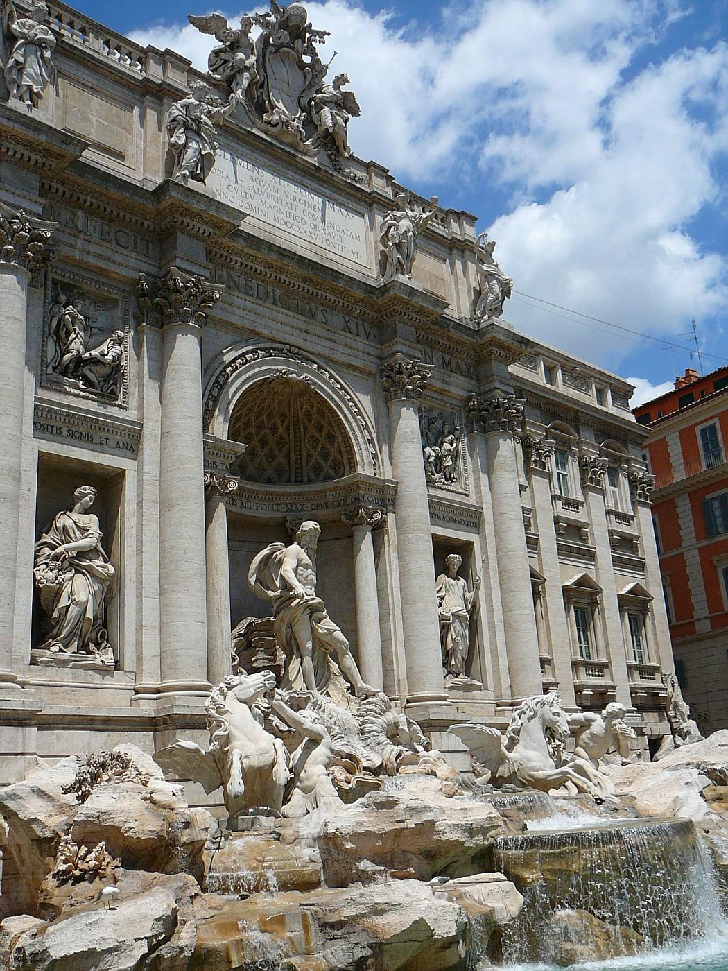 Fontana Di Trevi 1732