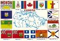 03- Canada Provinces Flags