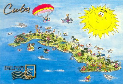 00- Map of Cuba 0