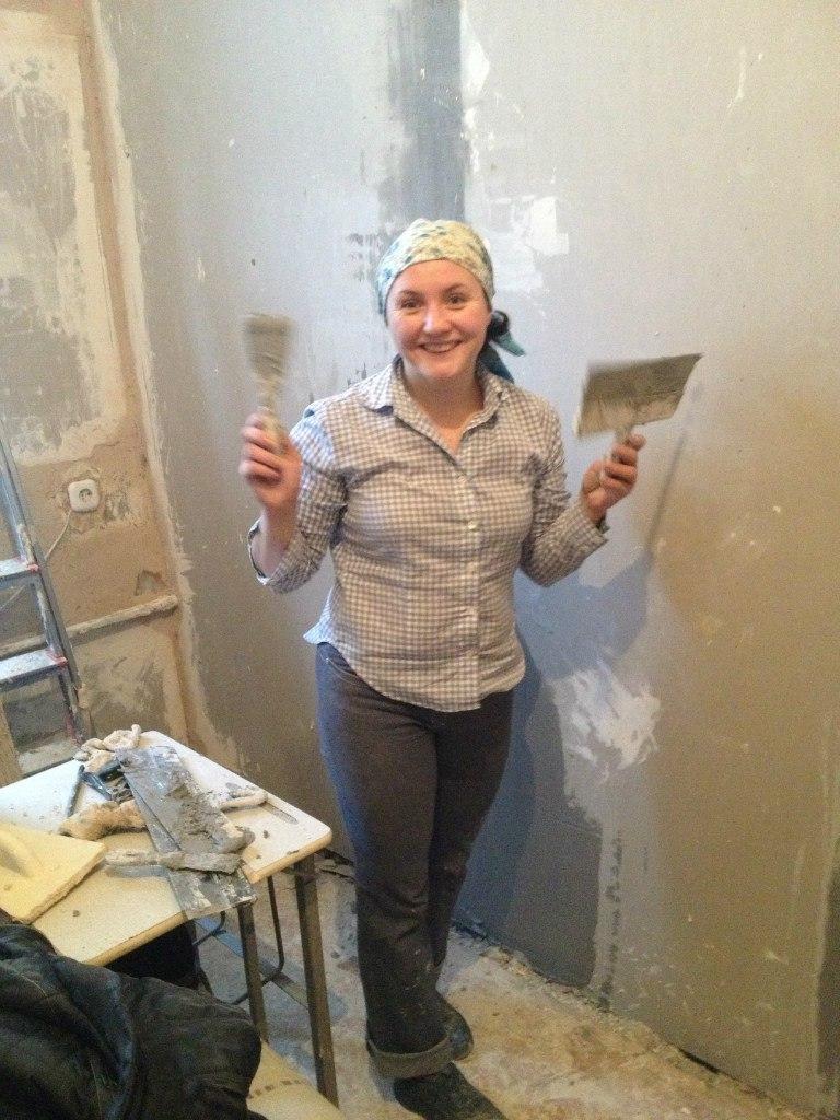волонтёры Даниловцы помогают ремонтом