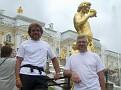 Manfred & Toon im Schlosspark