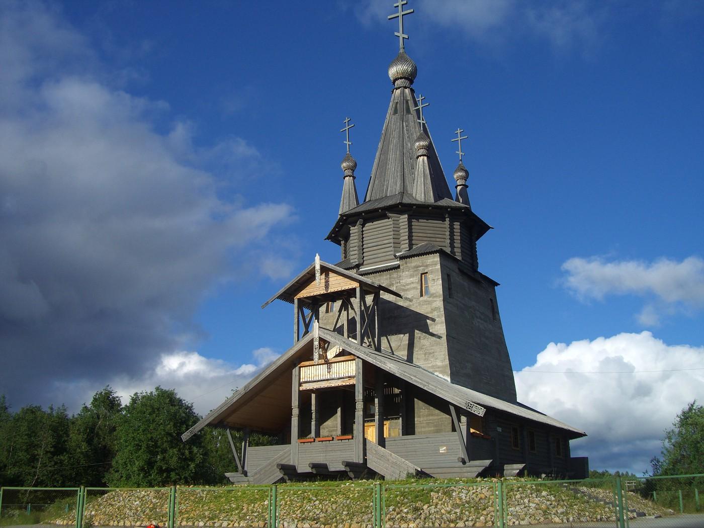 Holzkirche Povenec