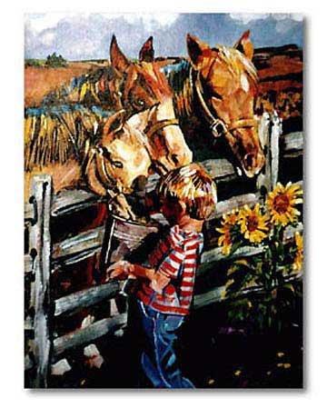 Boy & Horses