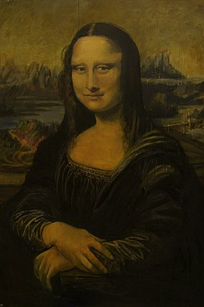 Portrait of Mona Lisa