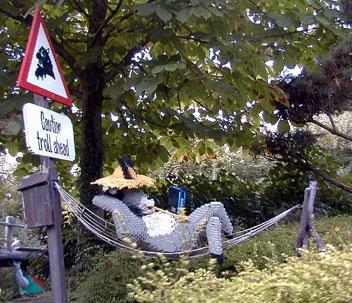 'Fairy Tale Brook' - Troll sign