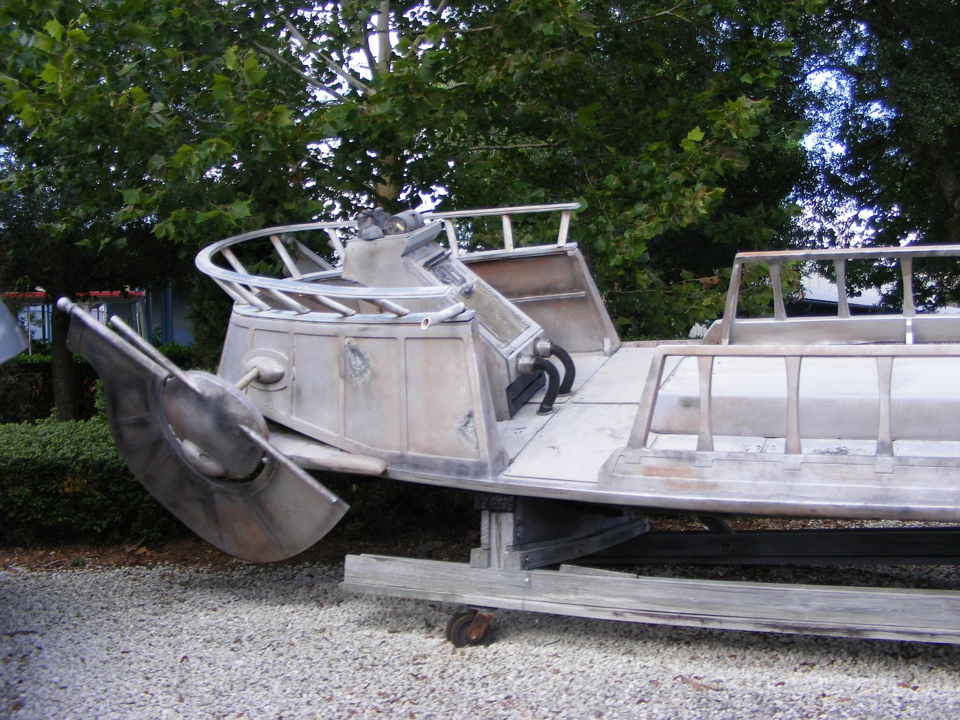 Yes, its Jabba's Skiff!