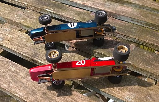 RF1-100 RTR 1:24 Retro F1 car